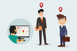 GPS people and staff tracking