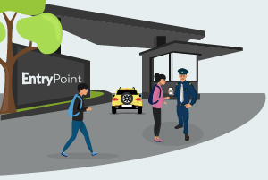 entrypoint visitor management system